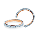 Verragio 0426W Two-Tone Ladies Couture Wedding Band