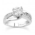 Barkevs White Gold Engagement Ring 6990LW