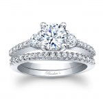 Barkevs Three Stone Ring 7539SW