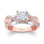 Barkevs Rose Gold Engagement Ring 8018LTW