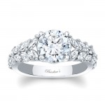 Barkevs Engagement Ring With Marquise Stones 8022LW