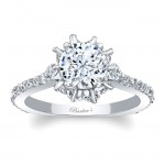 Barkevs Engagement Ring With Marquise Stones 8023LW