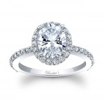 Barkevs Oval Engagement Ring 8027LW