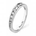MICHAEL M Platinum Wedding Band R417B