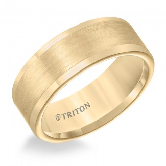 8MM Tungsten Carbide Ring 11-2118YC-G.00