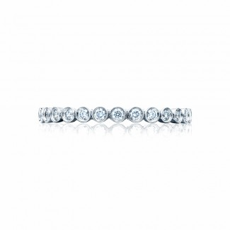 Tacori 200-2ET  Platinum Ladies Sculpted Crescent Wedding Band