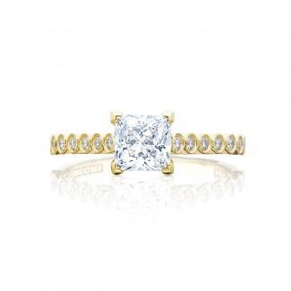 Tacori 200-2PR55Y 18 Karat Sculpted Crescent Engagement Ring