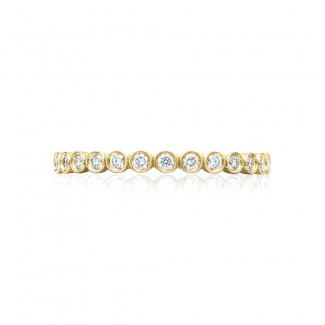 Tacori 200-2Y  18k Yellow Gold Ladies Sculpted Crescent Wedding Band