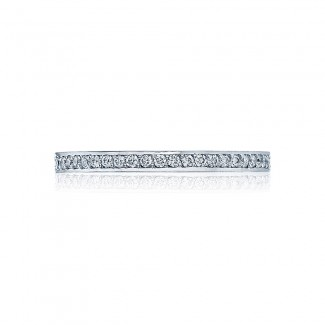 Tacori 2630BMDP12  Platinum Ladies  Wedding Band