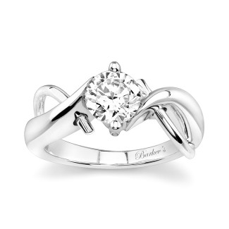 Barkevs Solitaire Diamond Ring 5219LW