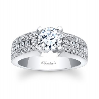 Barkevs Diamond Engagement Ring 6638LW