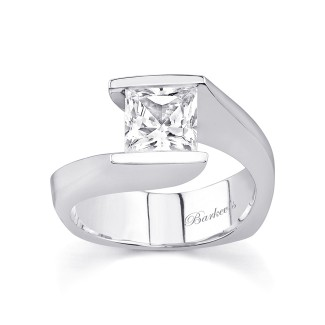 Barkevs Solitaire Engagement Ring 7084LW