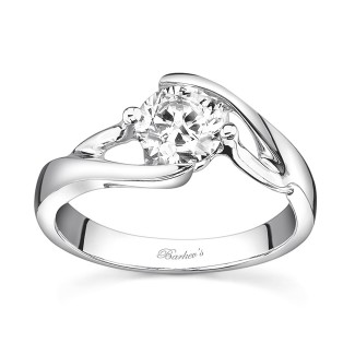 Barkevs Solitaire Engagement Ring 7543LW