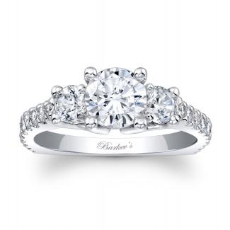 Three Stone Engagement Ring 7925L