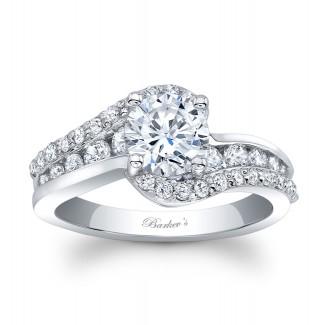 Barkevs Diamond Engagement Ring  8017LW