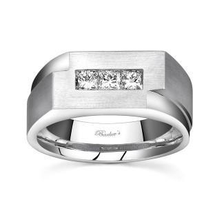 Barkevs Mens Wedding Band MP1768GW