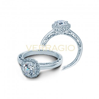 Verragio AFN-5019R White Gold Ladies Venetian Engagement Ring