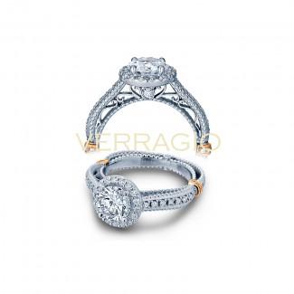 Verragio AFN-5033R Two-Tone Ladies Engagement Ring