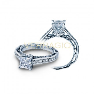 Verragio AFN-5035P White Gold Ladies Engagement Ring
