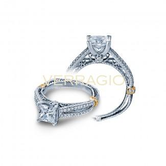 Verragio AFN-5036P Two-Tone Ladies Engagement Ring