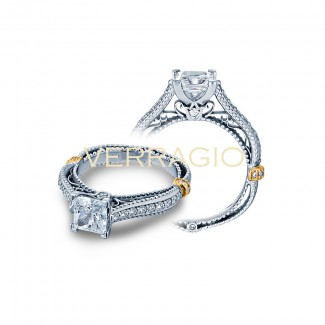 Verragio AFN-5038P Two-Tone Ladies Engagement Ring