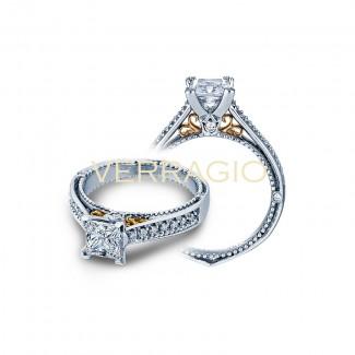 Verragio AFN-5040P Two-Tone Ladies Engagement Ring