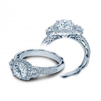 Verragio AFN-5025CU White Gold Ladies Venetian Engagement Ring