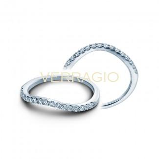 Verragio INS-7010W 14K White Gold Ladies Insignia Wedding Band