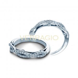 Verragio INS-7050W 14k White Gold Ladies Insignia Wedding Band