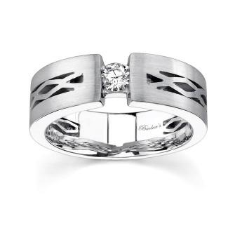 White Gold Diamond Wedding Band MP1752G