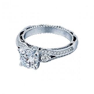 Verragio AFN-5021R White Gold Ladies Venetian Engagement Ring