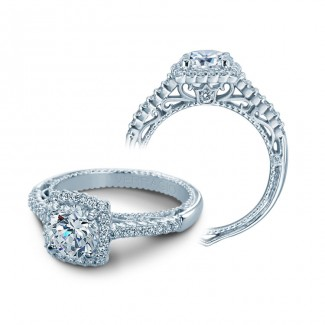 Verragio AFN-5022CU White Gold Ladies Venetian Engagement Ring