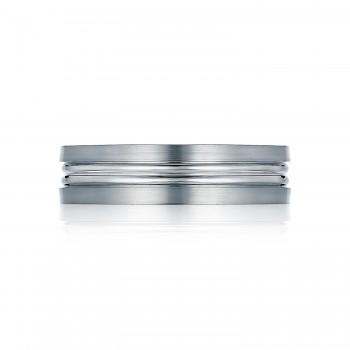 Tacori 109-6S  Platinum Mens Sculpted Crescent Wedding Band