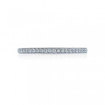 Tacori 2526ETML  Platinum Ladies Ribbon Wedding Band