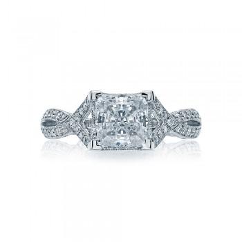 2565PR65 Platinum Simply Tacori Engagement Ring