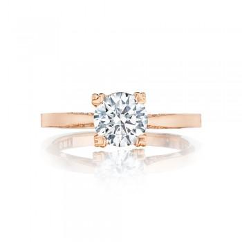 Tacori 2584RD65PK 18 Karat Pretty In Pink Engagement Ring