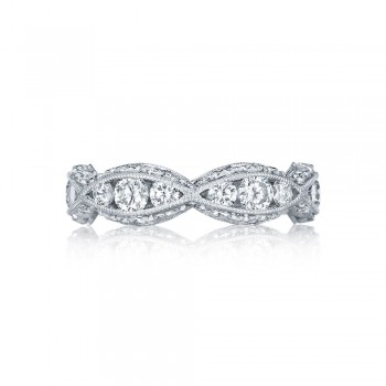 Tacori 2644B  Platinum Ladies  Wedding Band