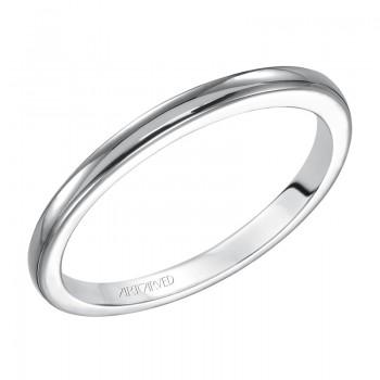 Artcarved 31-V126W Classic 14k White Gold Ladies  Engagement Ring