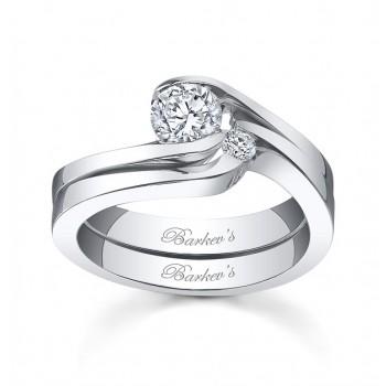 Barkevs Diamond Bridal Set 3853SW