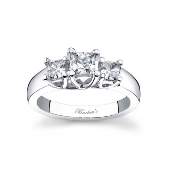 Three Stone Engagement Ring 5019L