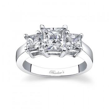 Three Stone Diamond Engagement Ring 5107L