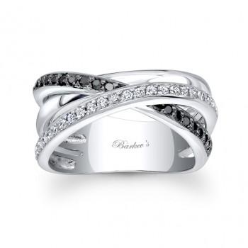 Barkevs Black Diamond Ring 6950LBKW