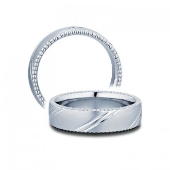 Verragio MV-6N05 Platinum Mens Couture Wedding Band