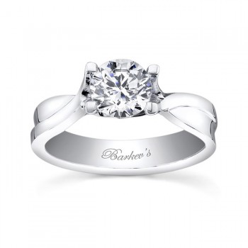 Barkevs Solitaire Engagement Ring   7504LW