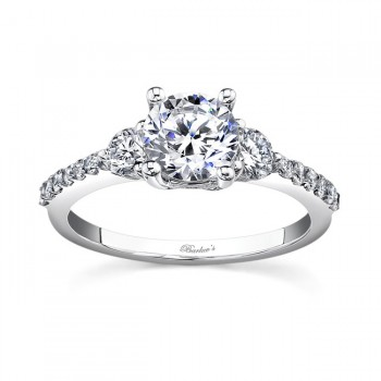 Barkevs Three Stone Diamond Ring 7539LW