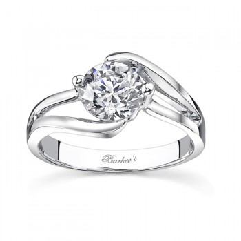 Barkevs Solitaire Engagement Ring 7623LW