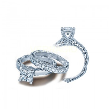 Verragio AFN-5009P White Gold Ladies Venetian Engagement Ring
