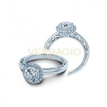 Verragio AFN-5019R White Gold Ladies Venetian Engagement Ring