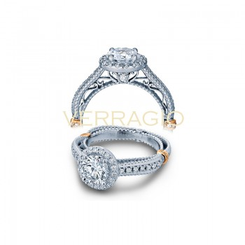 Verragio AFN-5033R Two-Tone Ladies Engagement Ring