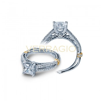 Verragio AFN-5036P Two-Tone Ladies Engagement Ring